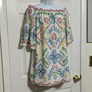 Flying Tomato Off the Shoulder Dress Size S